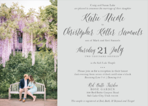 katie-lake-front Wedding Invitations