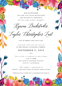 kynan-dockstader-front Wedding Invitations
