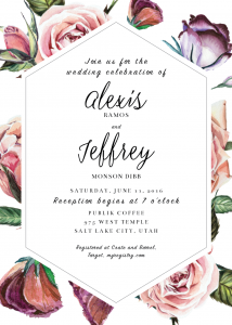 alexis-and-jeffrey-front Wedding Invitations