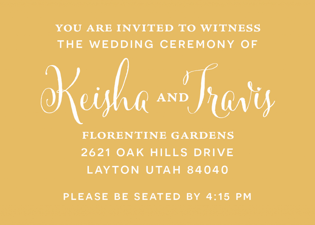 keisha_insertfront_web Wedding Invitations