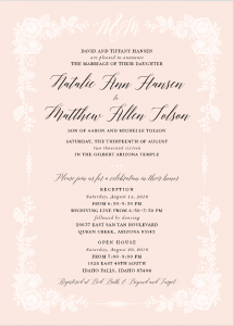 natalie-hansen-front Wedding Invitaions