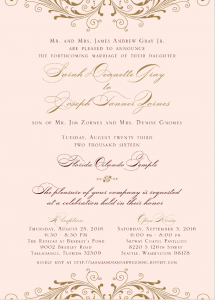 sarah-grey-front Wedding Invitations