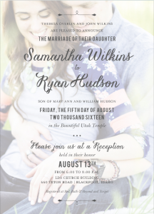 samantha-wilkins-front Wedding Invitations