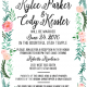 Kylee and Cody 5x7 front Wedding Invitations