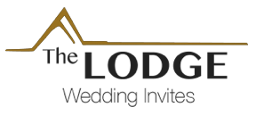 The Lodge Wedding Invites