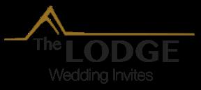 The Lodge Wedding Invites