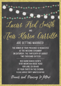 Ana-and-Lucas-5x7-front- Wedding Invitations