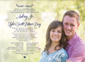 Aubrey-Beck-Front Wedding Invitations