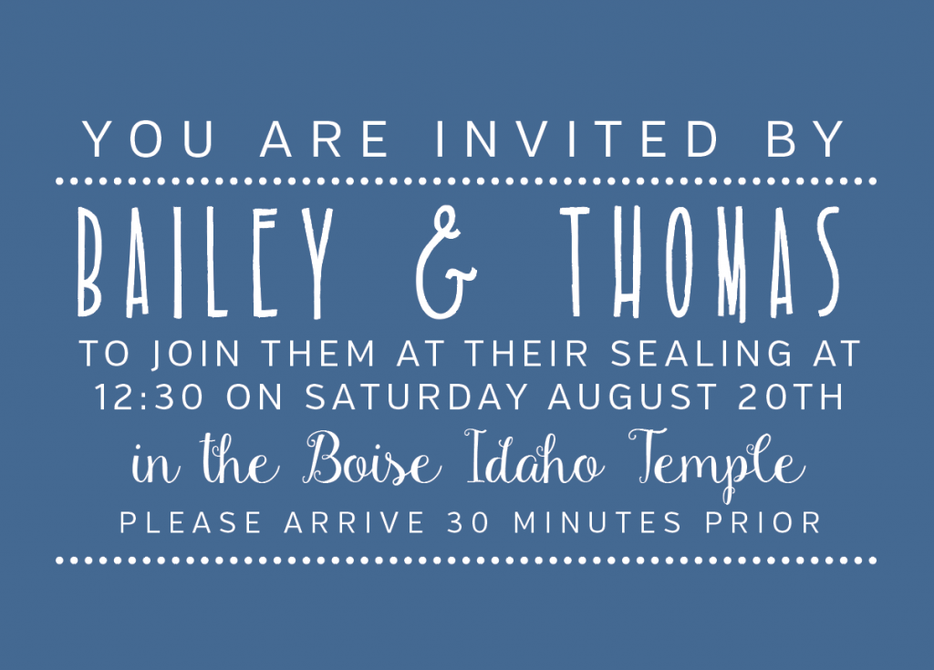 Bailey-Peavler-Insert-Front Wedding Invitations