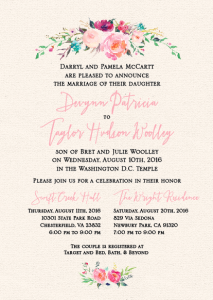Devynn-and-Taylor-5x7-front Wedding invitations