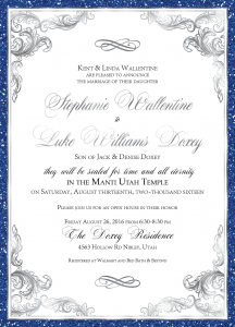 Stephanie-Wallentine-Front Wedding Invitations