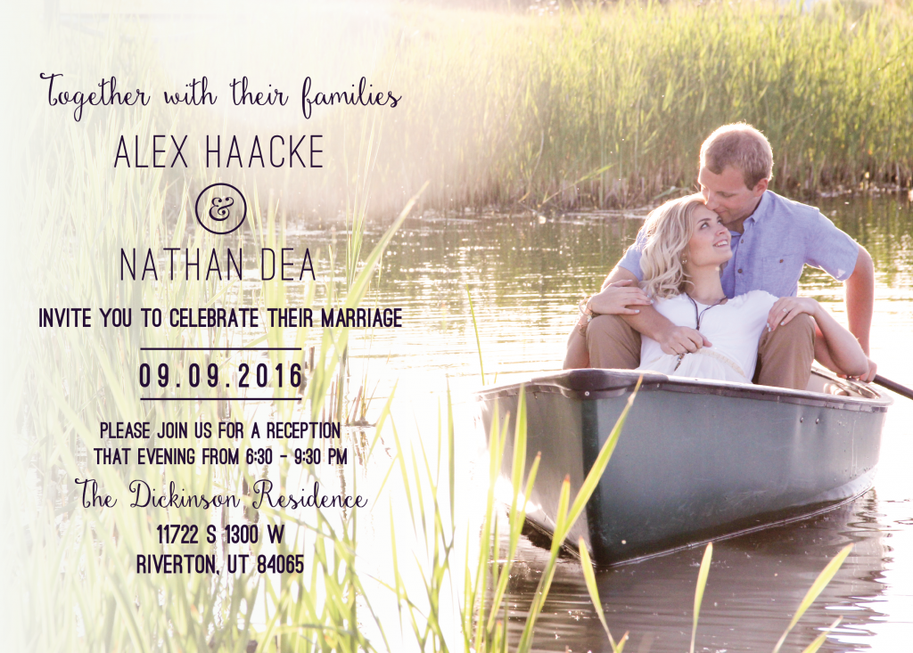 Alex-Haacke-Front Wedding Invitations