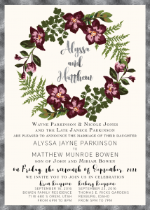 Alyssa-Parkinson-Front Wedding Invitations