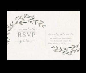 Rsvp Post Card Utah
