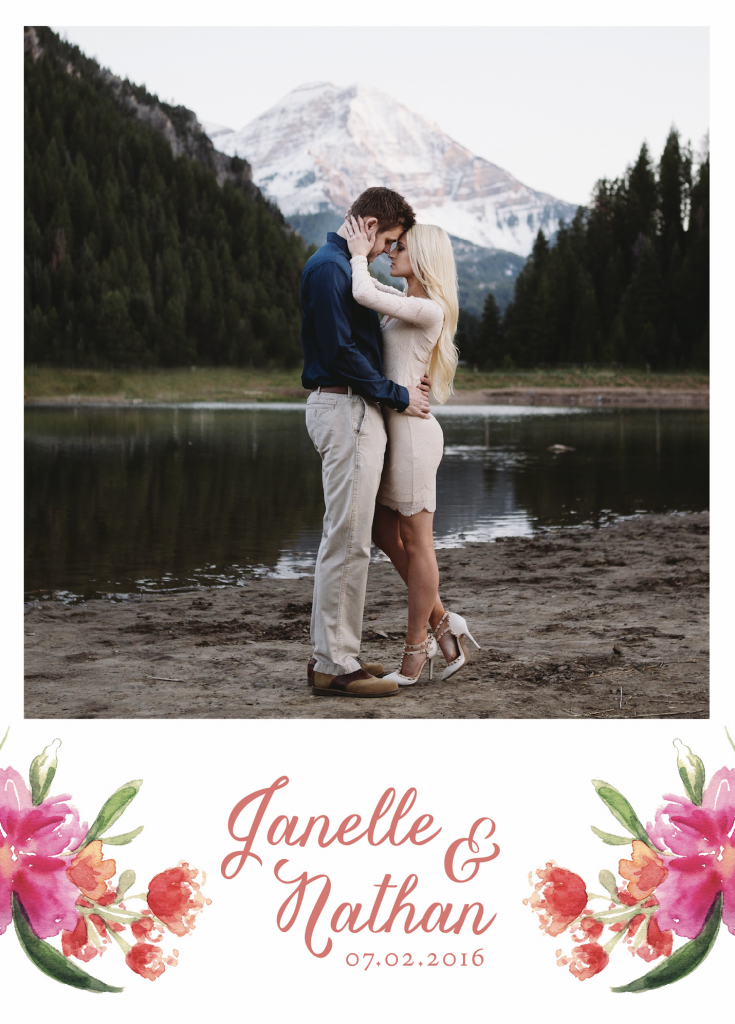 Janelle Wedding Announcements