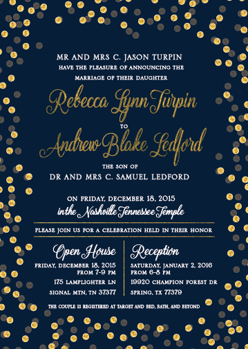 Rebecca-and-Andrew Wedding Invitations