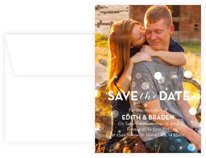 savethedate Invitation Sample