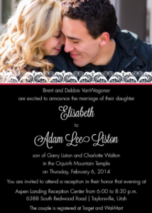 Elisabeth-and-Adam-front Wedding Invites