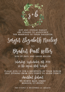 Saryn-and-Braden-Front Wedding Invitations