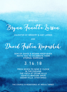 Brynn-Larsen-Front Wedding Invitations