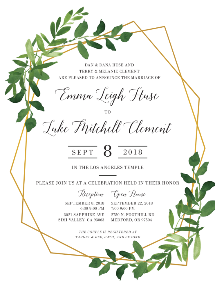 Emma-Huse-invite-front Wedding Invitations