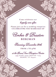 Amber-Baxley-Front Wedding Invitations
