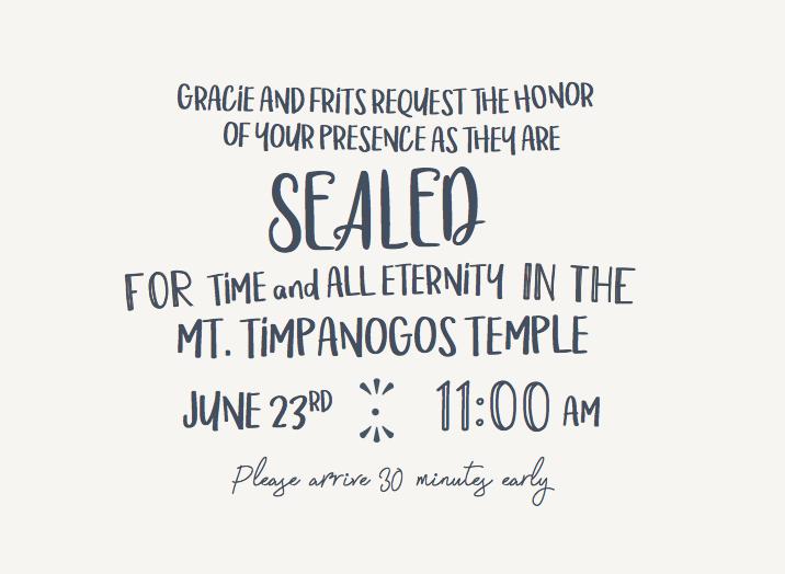 Gracie-Simmons-Ceremony-Front Wedding Invites
