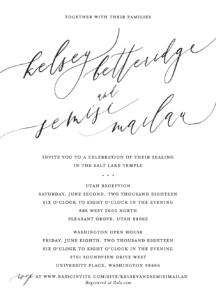 Beautiful Wedding Announcements.Beautiful Wedding Announcements Beautiful Wedding Invitations Utah