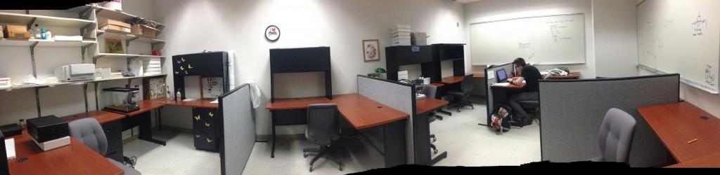 Grad Student office