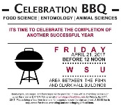 April 21, 2017 BBQ flyer