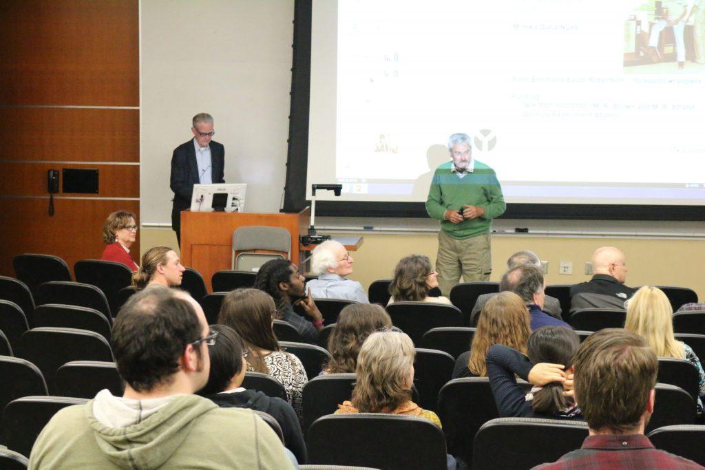 Speakers presenting