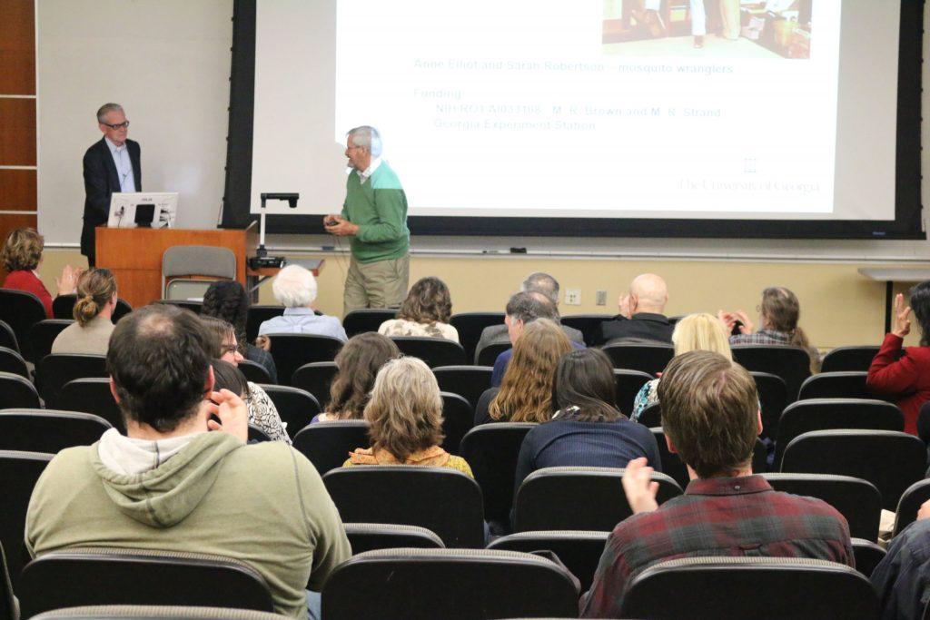 John Brown presenting