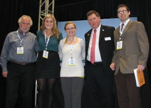 Food Science team takes third place at the National Dairy Product Evaluation Contest