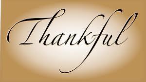 Word thankful