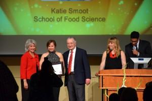 Outstanding senior award is presented
