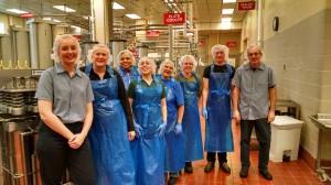WSU Creamery with representatives of tree top