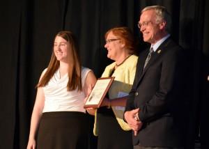 Milligan outstanding senior award