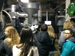 students at the beaverton foods tour