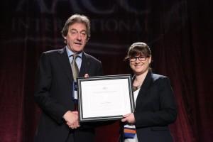 AACC award presentation