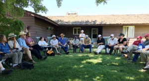 June 2015 AC meeting at Lazy R Ranch.  Photo: T. Zimmerman
