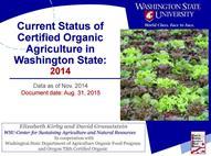 Organic ag in WA
