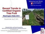 recent trends tree fruit