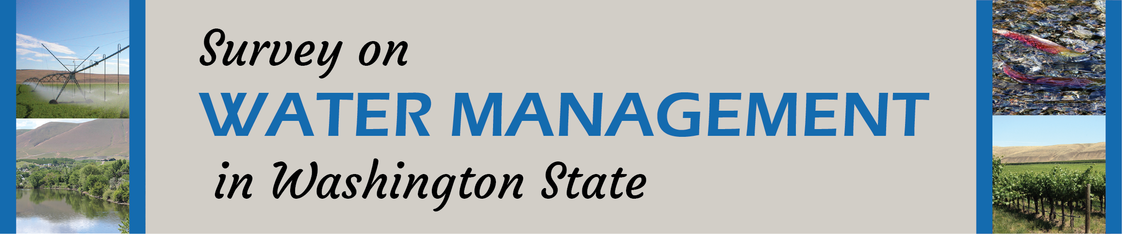 Survey on Water Management in Washington State