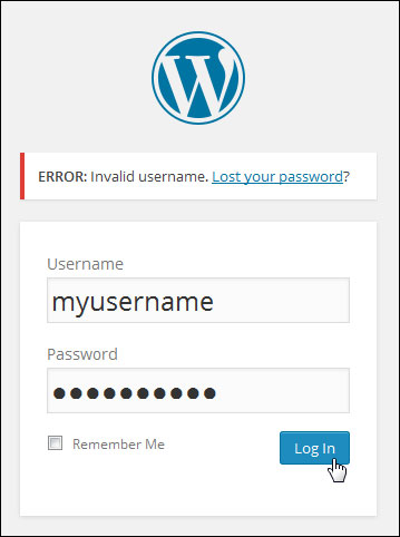 Changing Login Passwords In WordPress