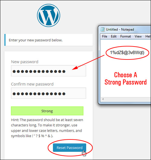 Retrieving Your Login Password