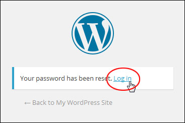 WordPress Password Retrieval