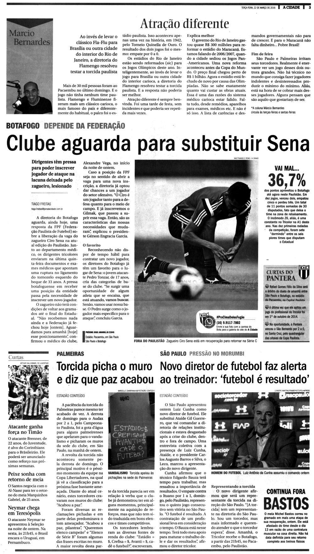 Jornal A Cidade  Ribeirão Preto – Notícias ( NOVO DIRETOR DE FUTEBOL ... 4b8453b6a5421