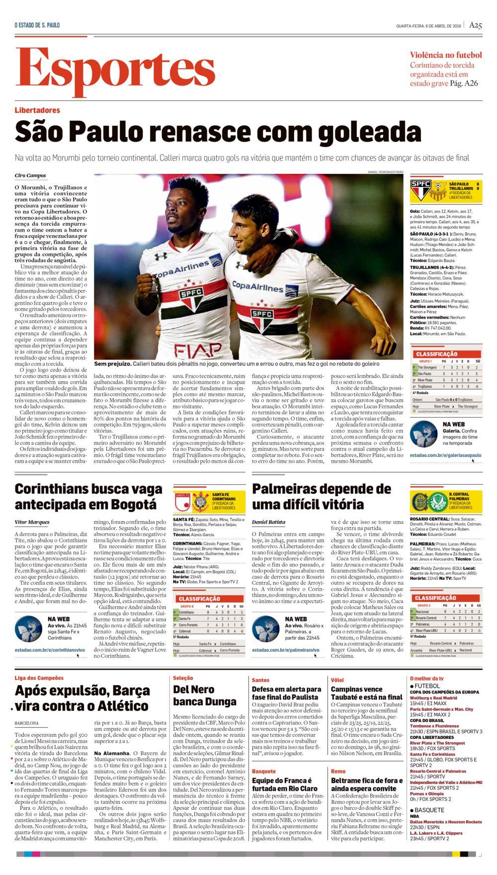 a739e0431a Jornal O Estado de S. Paulo – Notícias (SÃO PAULO RENASCE COM ...