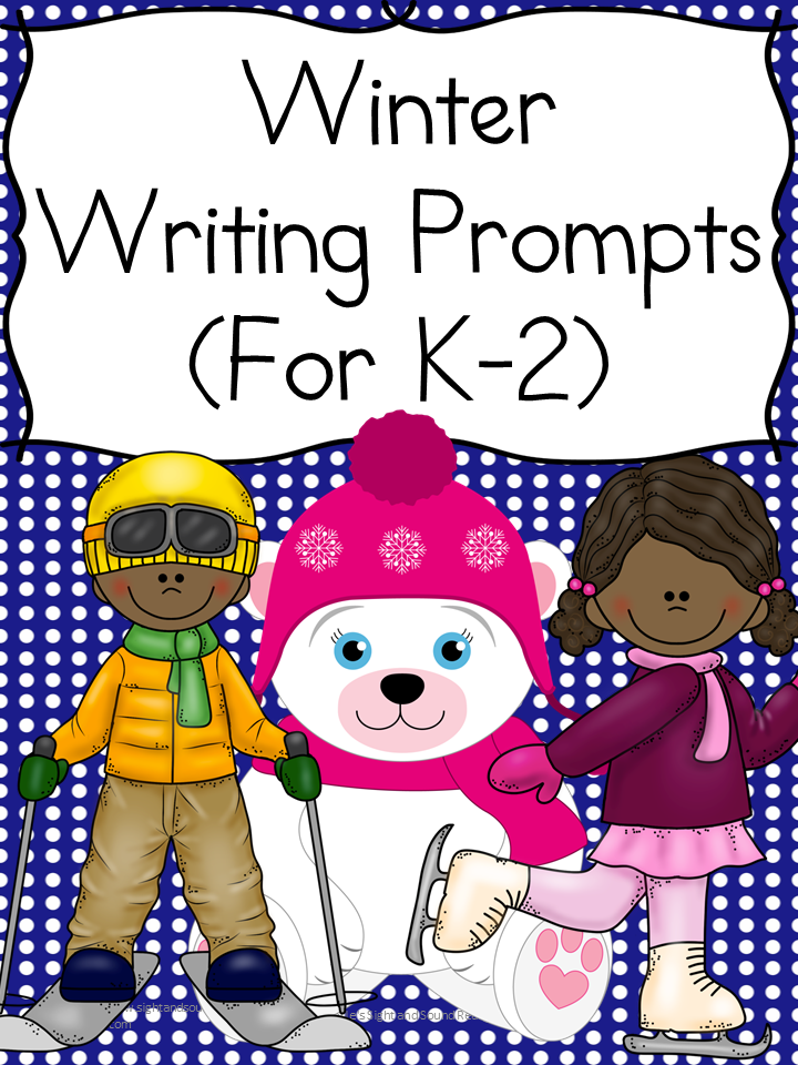 Winter Writing Prompts: Great for Kindergarten through second grade.