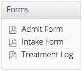 Paper Forms on the Reports page